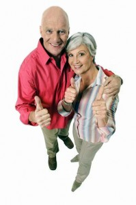 Thumbs-up-senior-couple-199x300 Thumbs up senior couple