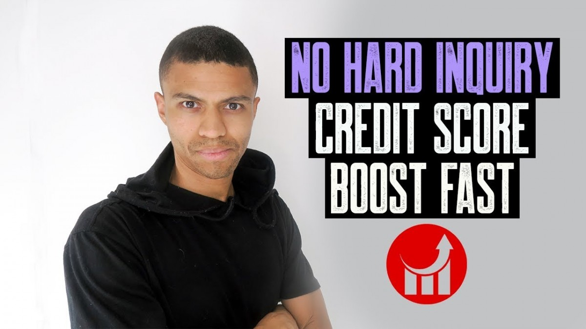NO HARD INQUIRY CREDIT SCORE BOOST FAST || GOODWILL LETTER